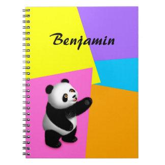 Cuaderno del Bon del Bon de la panda