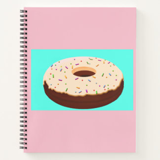 Cuaderno del buñuelo del chocolate (buñuelo)