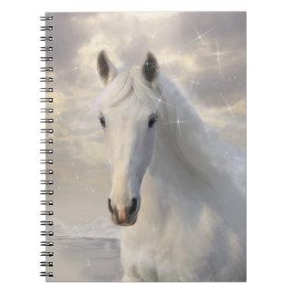 Cuaderno del caballo blanco