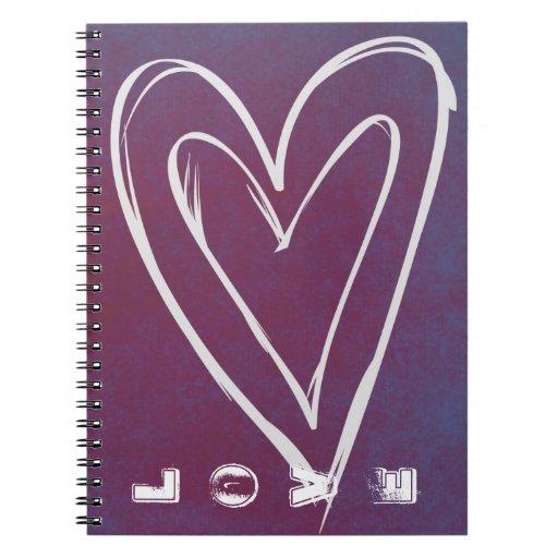 Cuaderno del corazón del amor