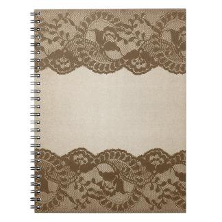 Cuaderno del cordón de Brown