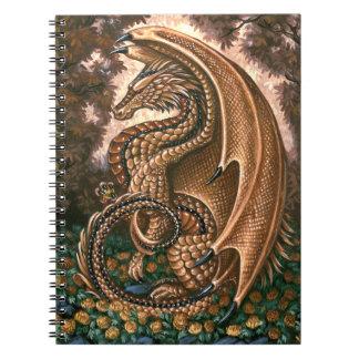 Cuaderno del dragón del Topaz