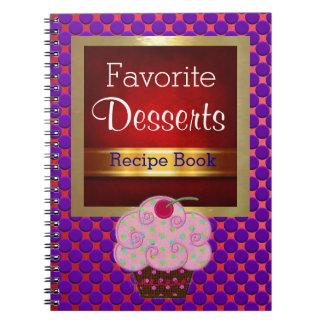 Cuaderno Cuaderno del encargado de la receta