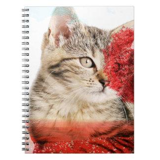 Cuaderno del gato de Tabby