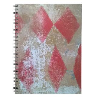 Cuaderno del grunge del diamante