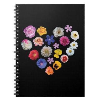 Cuaderno del jardín del amor