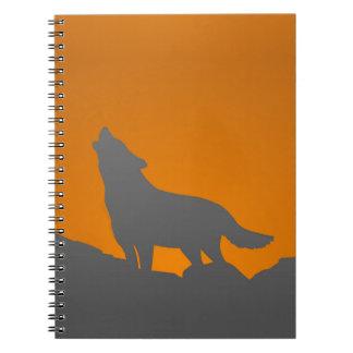Cuaderno del lobo del grito