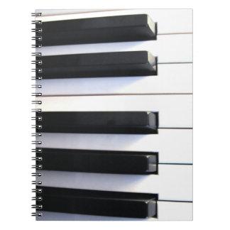 Cuaderno del piano