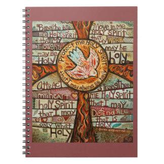 Cuaderno del rezo del Espíritu Santo