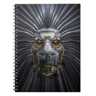 Cuaderno del robot del león