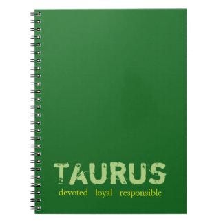 Cuaderno del tauro