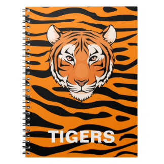 Cuaderno del tigre - para esa fan del tigre en su