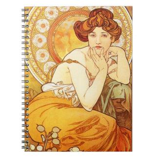Cuaderno del Topaz de Alfonso Mucha
