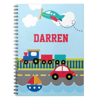 Cuaderno del transporte