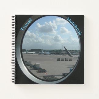 Cuaderno del viaje del aeropuerto