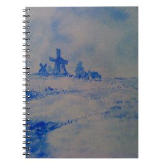 Cuaderno Delft-tipo escena