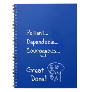 Cuaderno Dependable Great Dane
