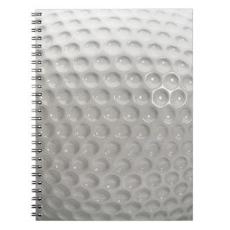 Cuaderno Deporte de la pelota de golf