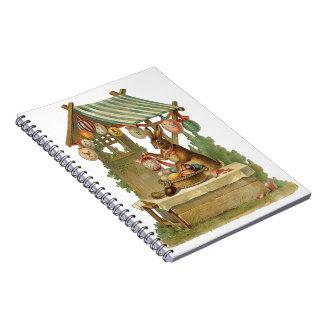 Cuaderno Deseándole una Pascua feliz