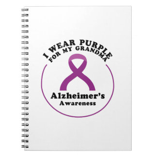 Cuaderno Desgaste de la conciencia de Alzheimers para mi
