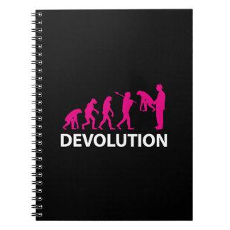 Cuaderno Devolution Evolution Funny Reissue