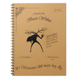 Cuaderno Diario de la bestia dentro