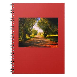Cuaderno Diario de la carretera nacional