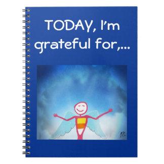 Cuaderno Diario de la gratitud