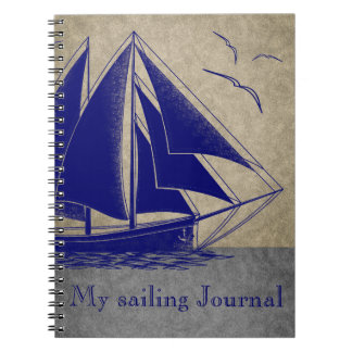 Cuaderno Diario de la navegación náutico