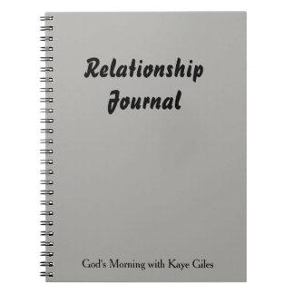 Cuaderno Diario de la relación para usted y su compañero