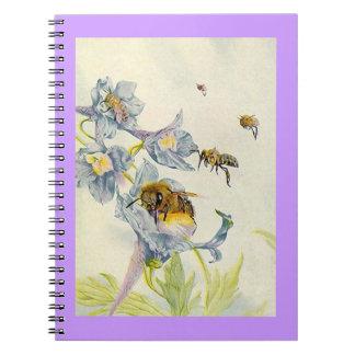 Cuaderno Diario de las abejas de la abeja del apicultor del