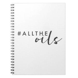 Cuaderno diario de los #alltheoils