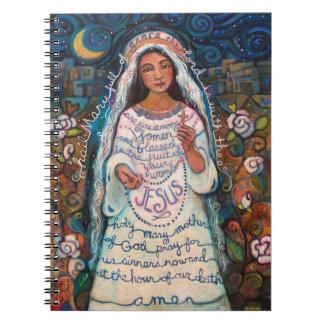Cuaderno Diario de Maria del saludo