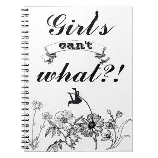 Cuaderno diario del salto con pértiga