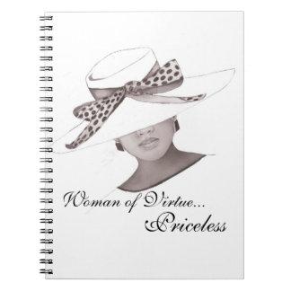 Cuaderno Diario elegante del gorra