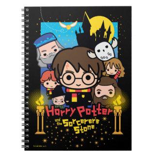 Cuaderno Dibujo animado Harry Potter y la piedra del