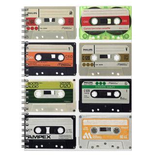 Cuaderno Dieciséis casetes audios