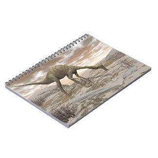 Cuaderno Dinosaurio de Gallimimus - 3D rinden