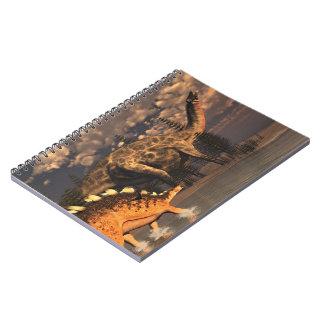 Cuaderno Dinosaurios del Dicraeosaurus y del kentrosaurus