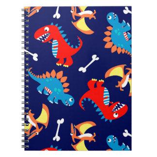 Cuaderno Dinosaurios lindos