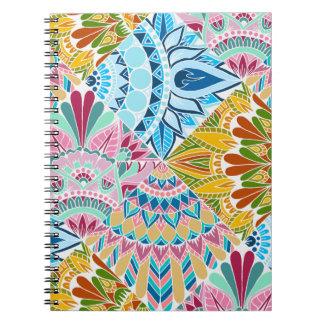 Cuaderno Diseño de la mandala del remiendo
