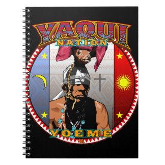 Cuaderno Diseño del bailarín de los ciervos de Yaqui Yoeme