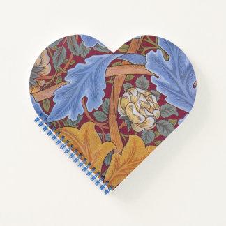 Cuaderno Diseño floral del vintage de William Morris San