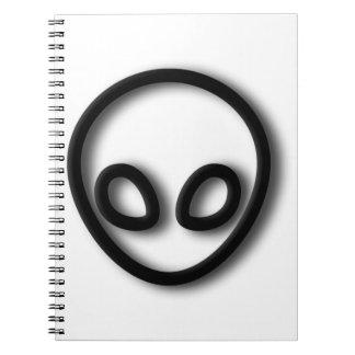 Cuaderno Diseño gris extranjero
