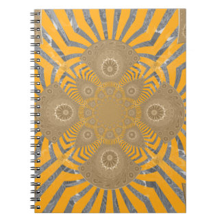 Cuaderno Diseño simétrico asombroso nervioso precioso del