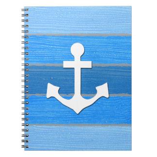 Cuaderno Diseño temático náutico