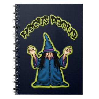 cuaderno divertido de la bruja de la fórmula de