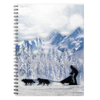 Cuaderno Dogsledding