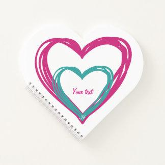 Cuaderno Dos corazones