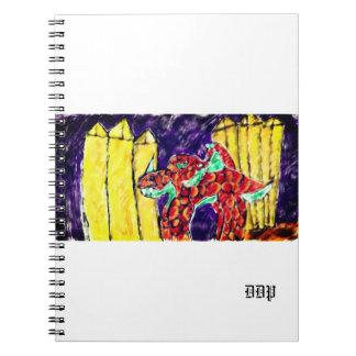 Cuaderno Dragón y Topaz
